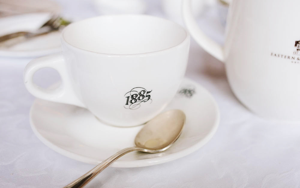 It's all in the details - 1885 is the year the E&O Hotel was established  by the Sarkies Brothers