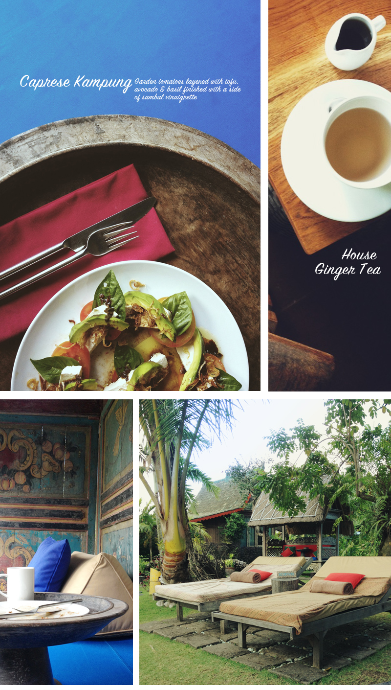 Meals, teas, cabanas, and more details that make Desa Seni such an experience for all the senses.