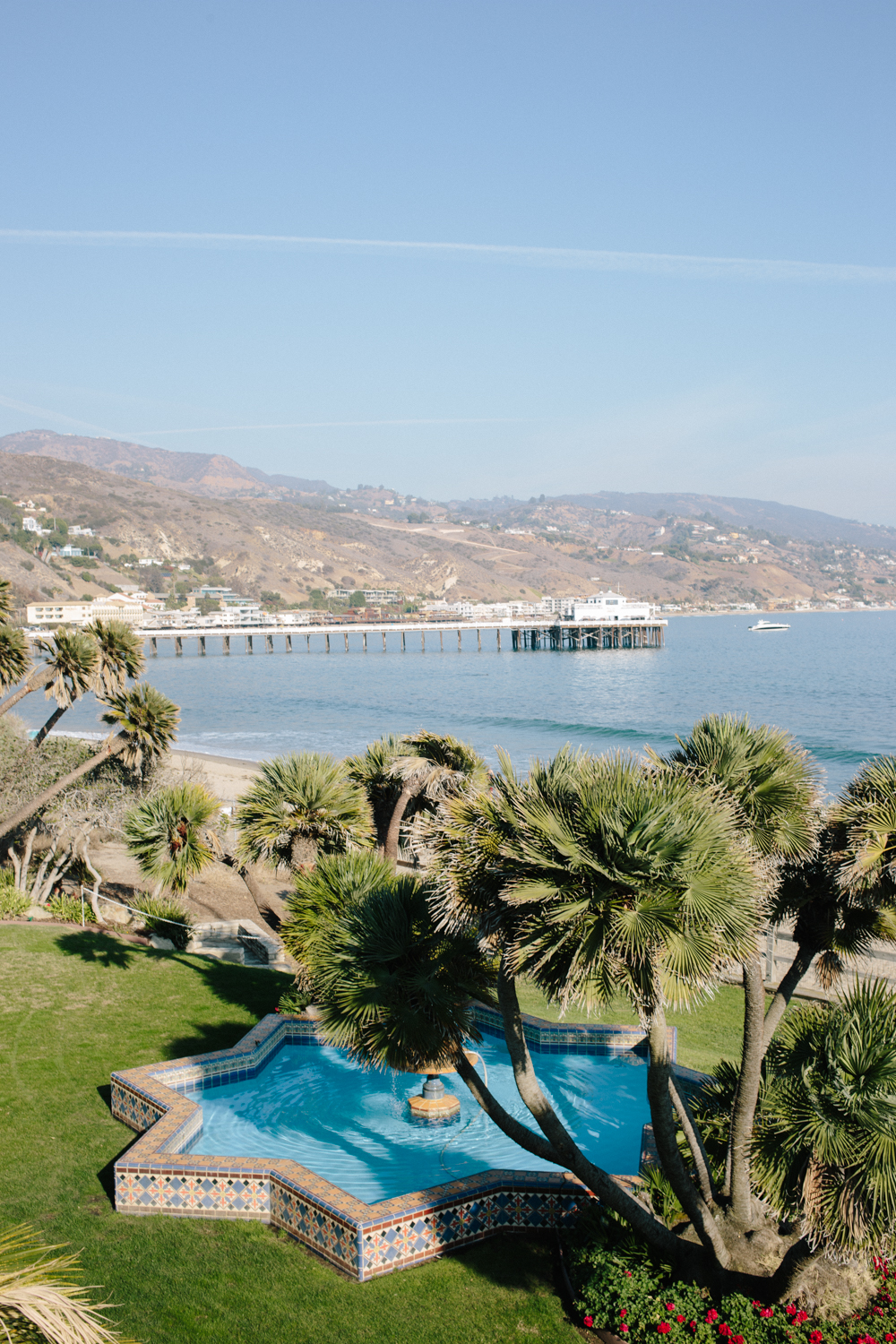 View of Malibu Pier from the 2nd floor balcony.