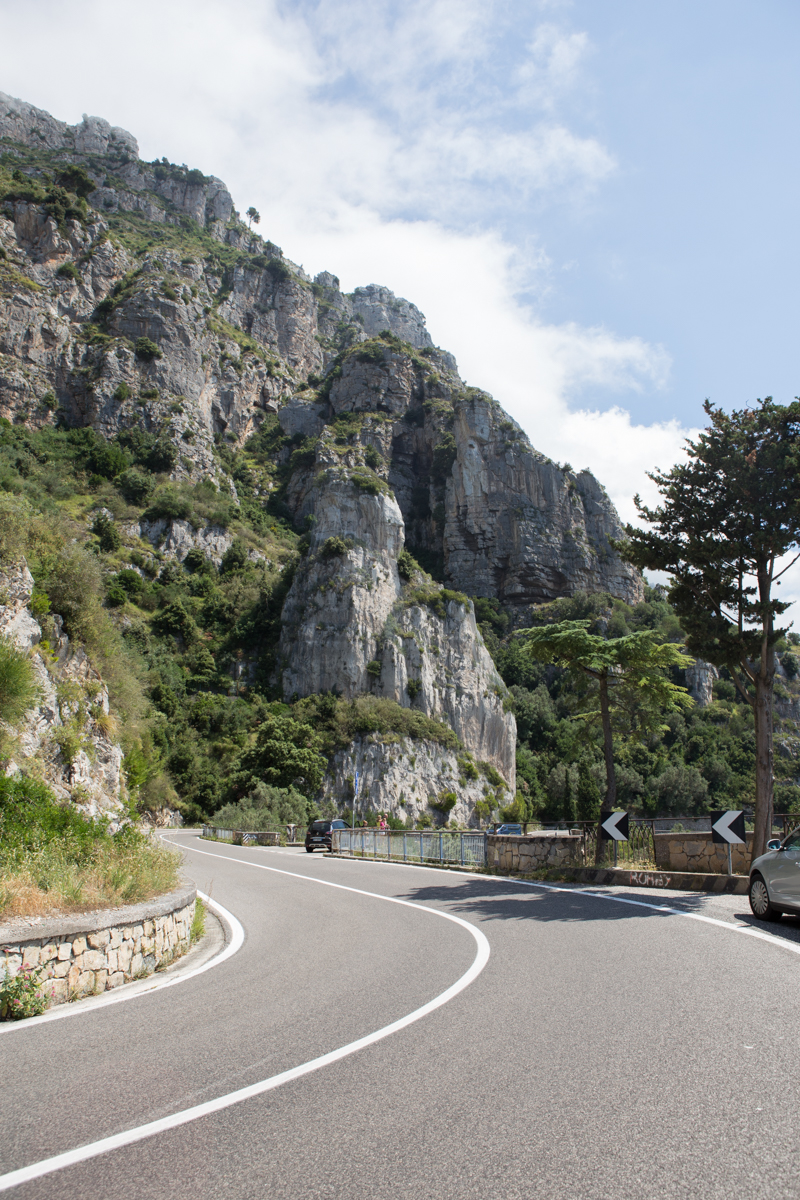 The road to Positano