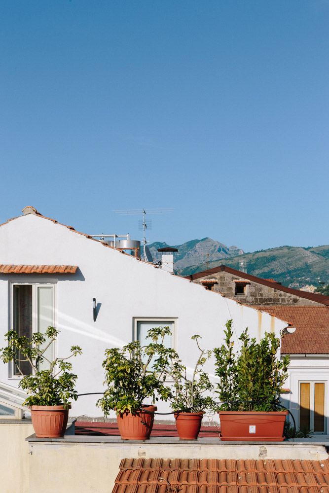 Rooftop views from Maison Tofani