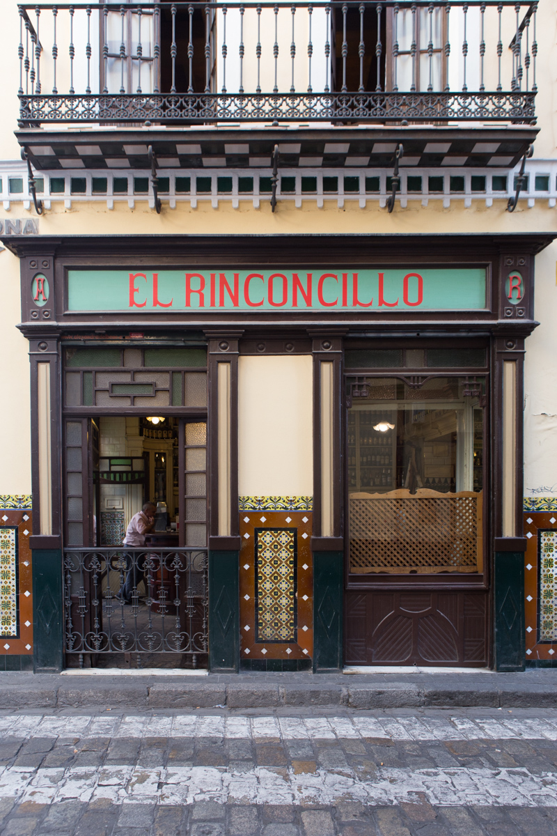 El Rinconcillo, said to be the oldest tapas bar in Seville (from 1670)