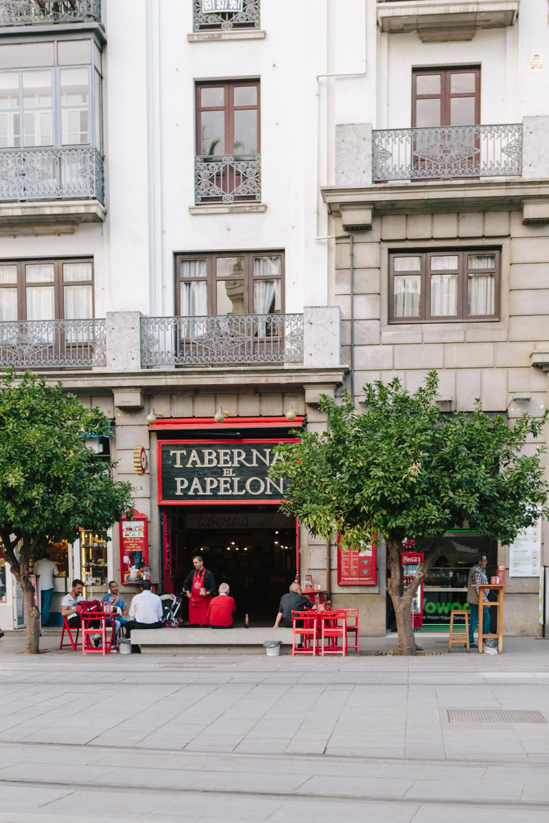 One of many tapas bars in the heart of Seville