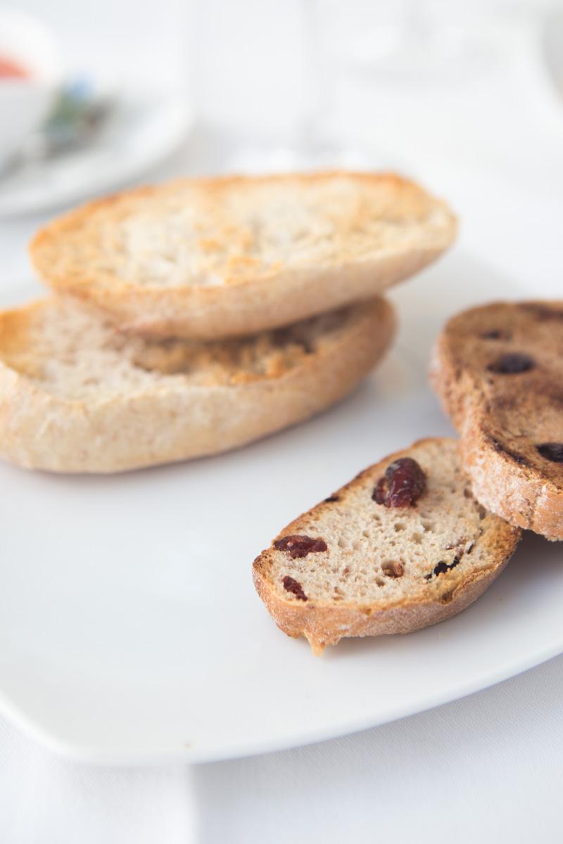 Freshly toasted bread