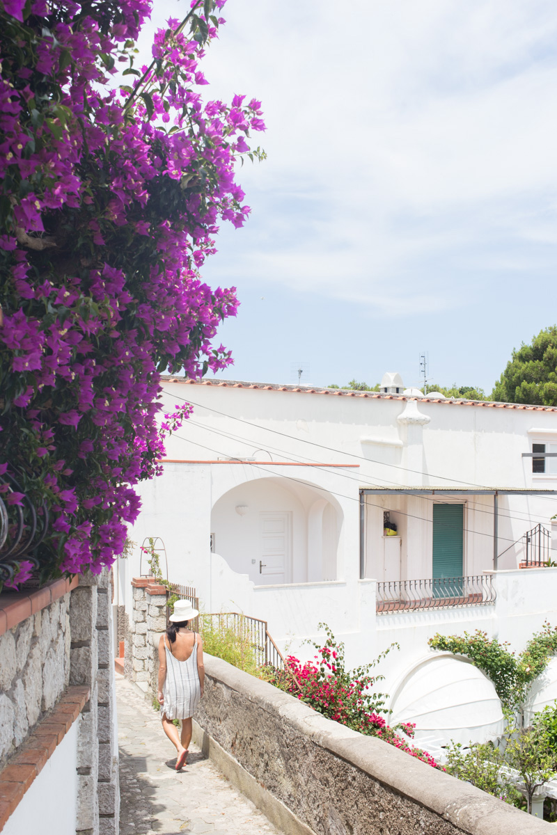 Exploring the nooks and crannies of Capri on foot