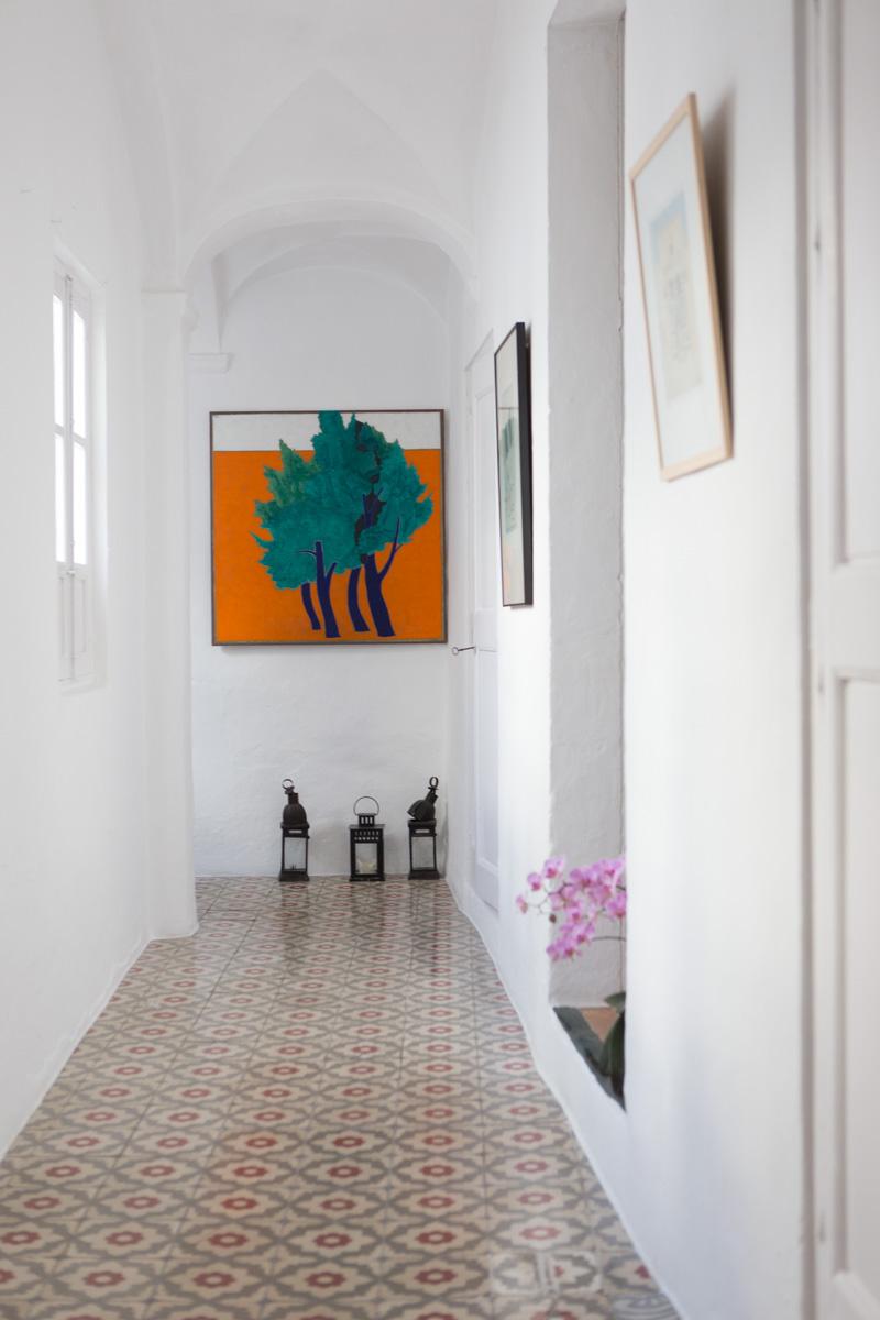 One of many lovely hallways