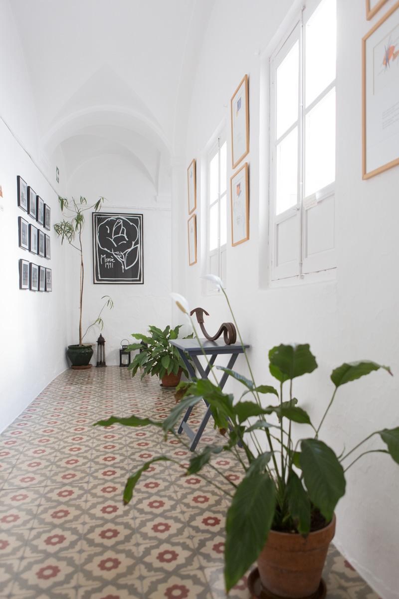 More artsy hallways