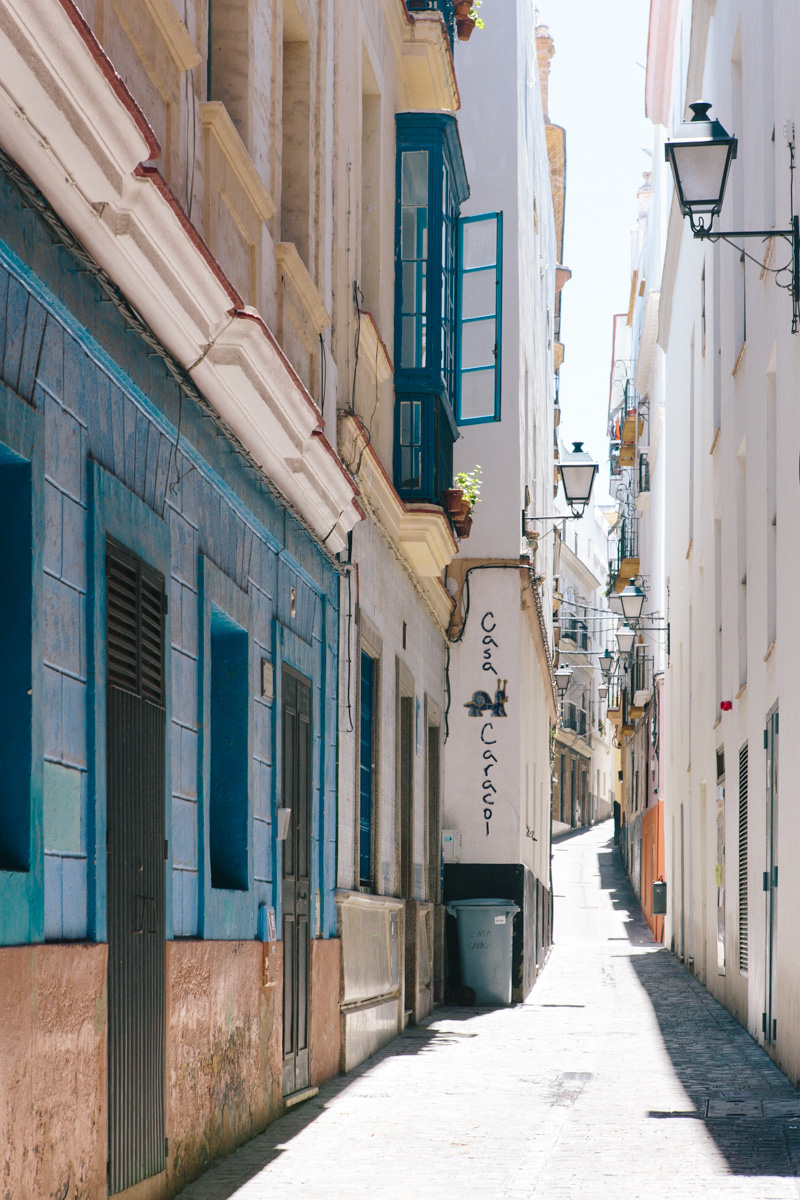 Endless textural details in the intricate streets of Cadiz