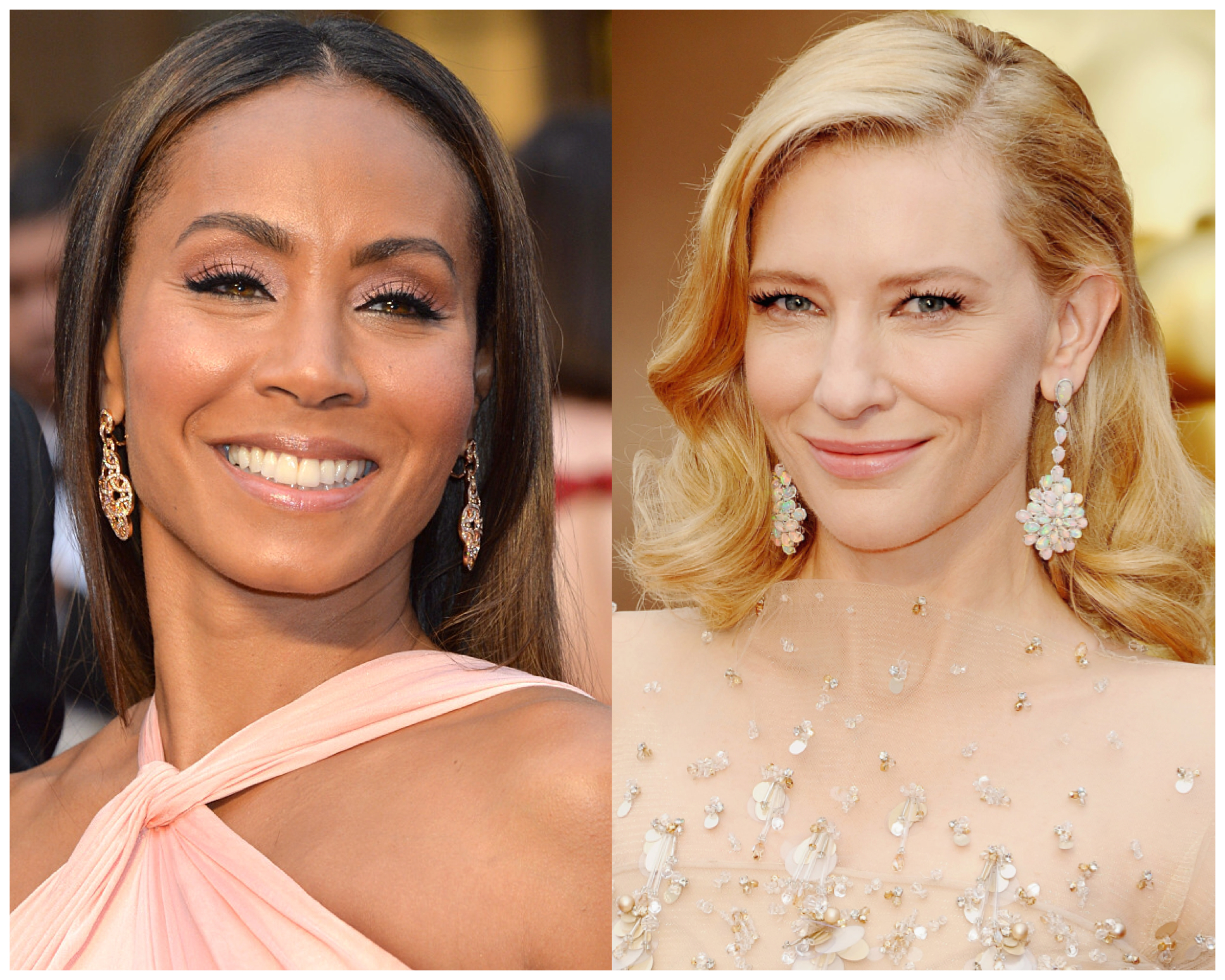 Jada Pinkett-Smith and Cate Blanchett