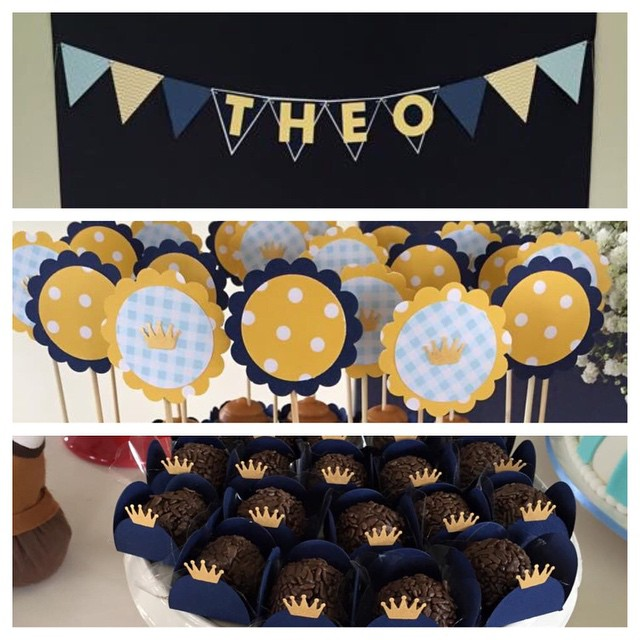 Today was Theo's party in Brazil - the last one we prepared before our break. Congratulations, little prince!  #littleprince #birthdayideas #boybirthday #pretapartaypix #etsy