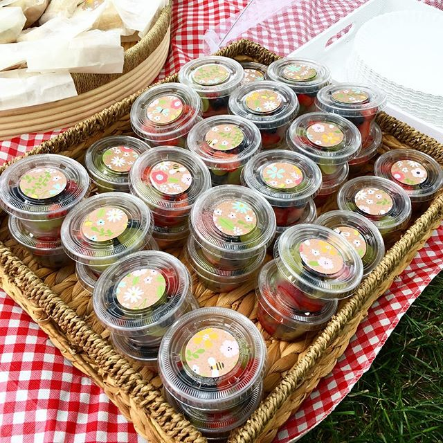It's picnic time!! Easy to share, easy to enjoy - disposable cups with style!