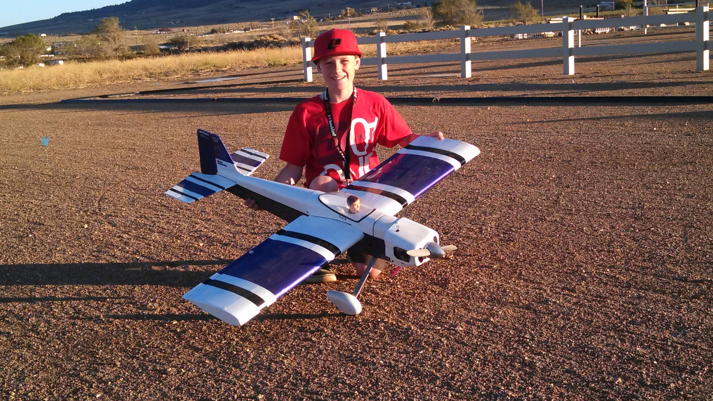 Tehachapi Crosswinds RC Club is proud of your progress, Kyle. Beautiful job building and flying!
