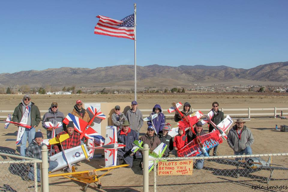 A New Year's Day tradition, all of these pilots performed their lucky loop and roll. It was a great day for all! Tehachapi Crosswinds wishes good luck for the rest of the year!