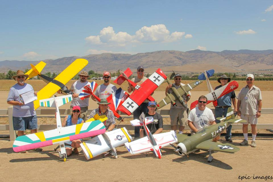 July 4, 2015 Fun Fly Event participants. What an enjoyable day!
