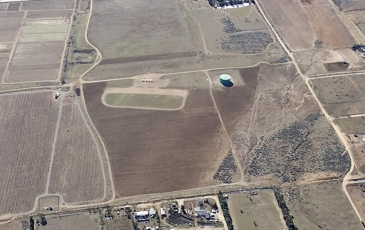 Tehachapi Crosswinds Field, taken January 28, 2017