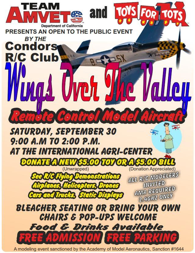 Events Calendar — Tehachapi Crosswinds Radio Control Club