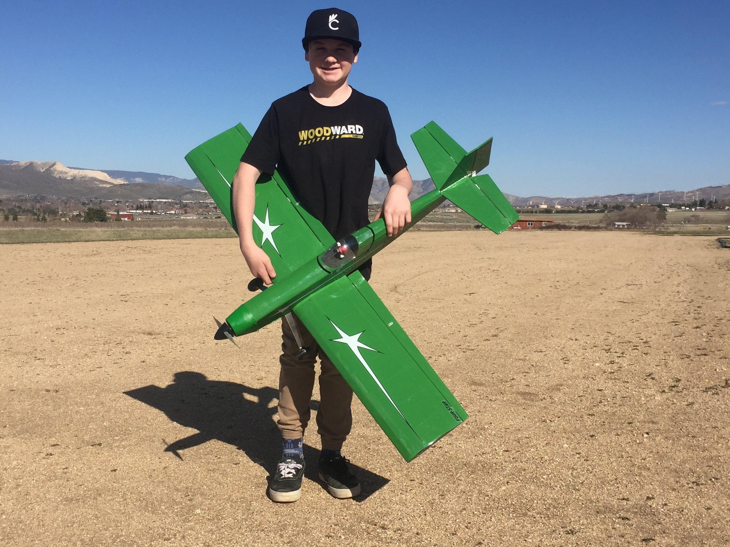 Plane of the Month — Tehachapi Crosswinds Radio Control Club
