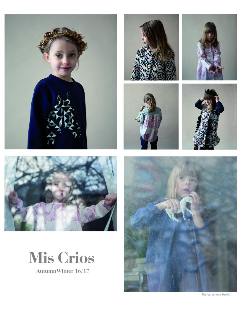 Mis Crios AW16 collection. Photo by Juliana Harkki