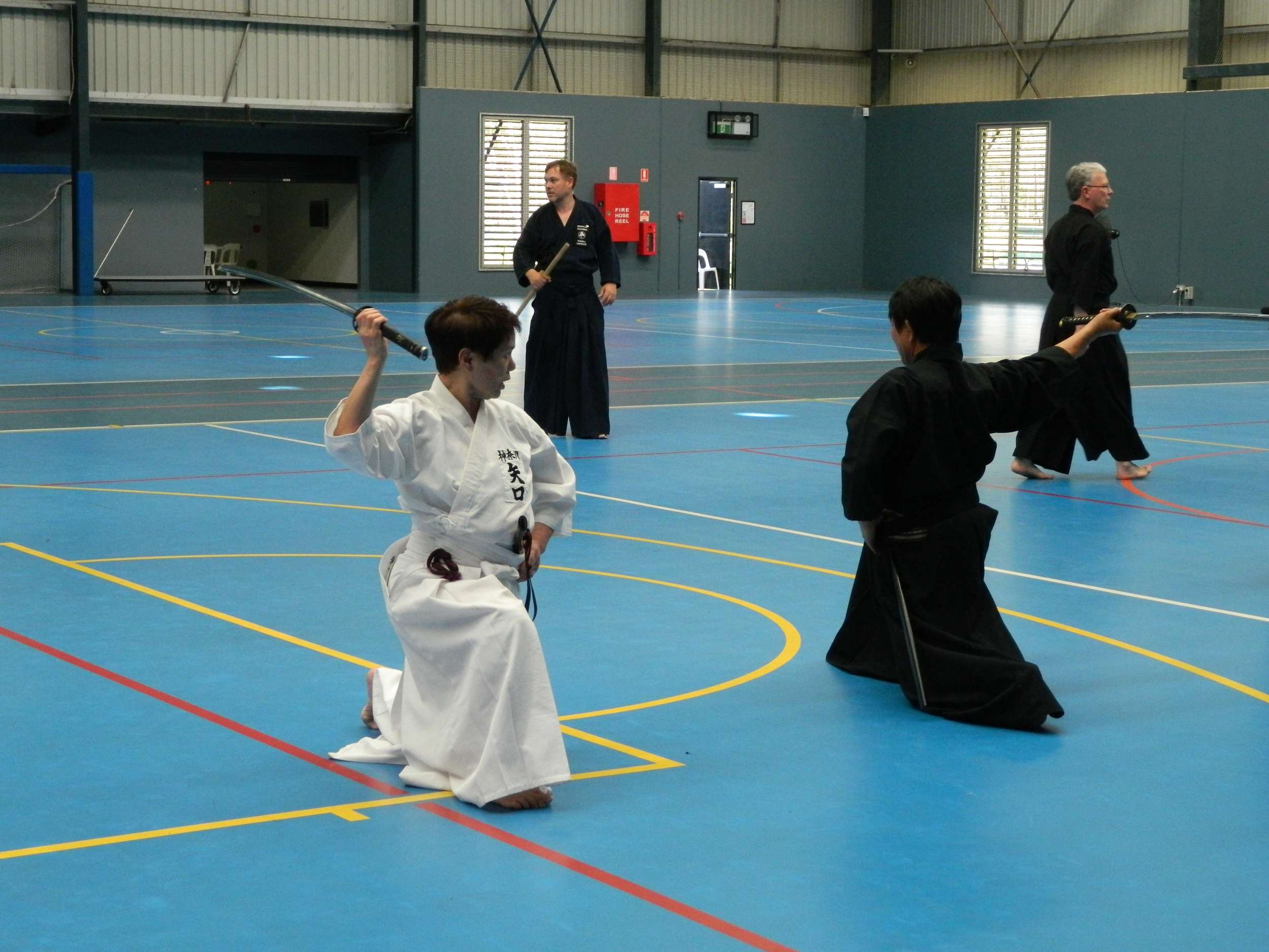 Iaido — Bun Bu Ryo Do - The USQ Martial Arts Club