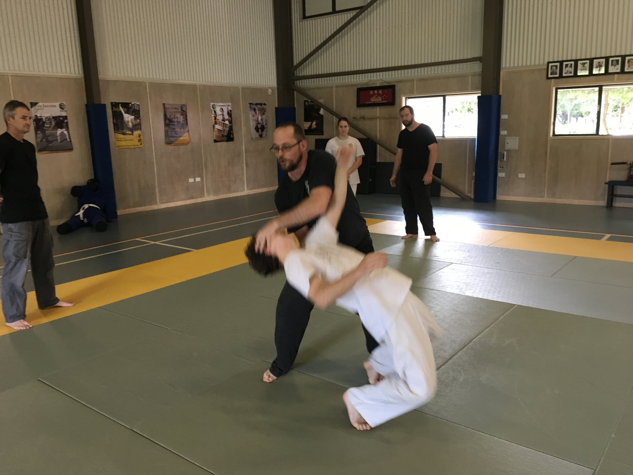 Using wave motion in Systema