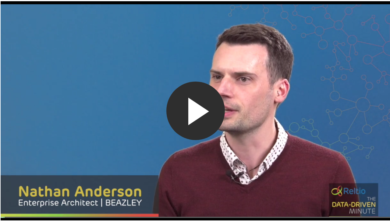 Listen to how Reltio customer Beazley used Reltio Account 360 to be more customer-centric