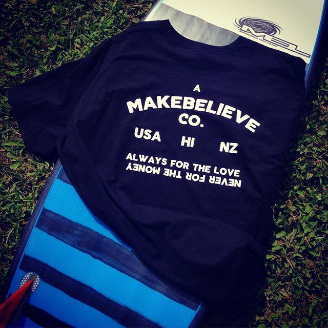 Noah from @ambchawaii hooked the boys up today with some shirts after ordering a new stick. Great quote for life and best description for board builders. #melsurfboards #ambchawaii