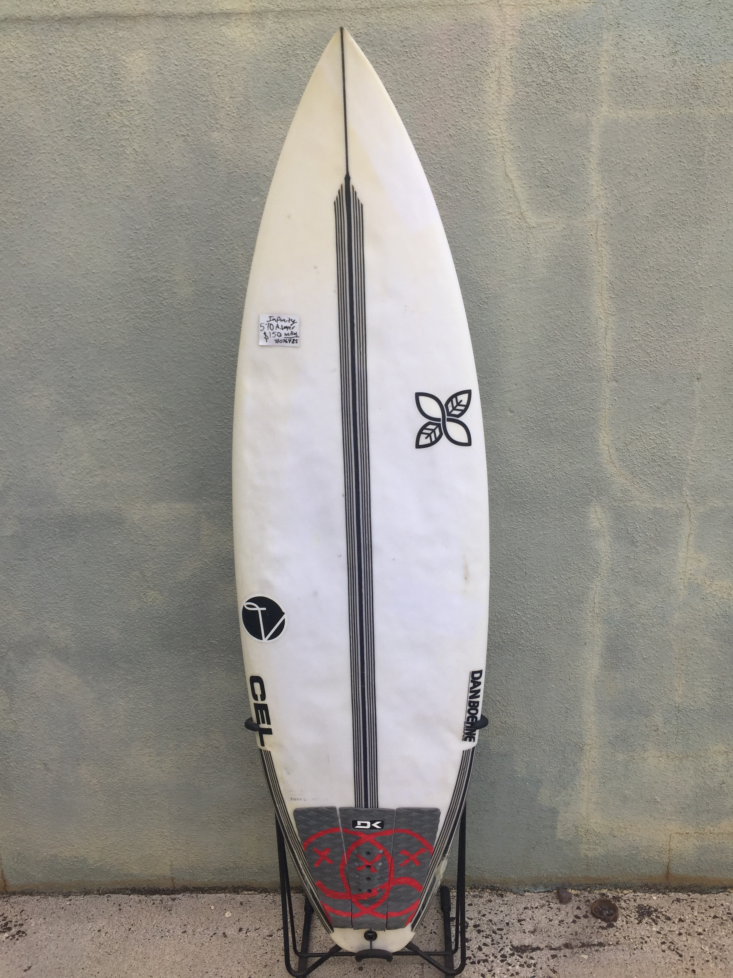 "5'10"" infinity shapes - $150"
