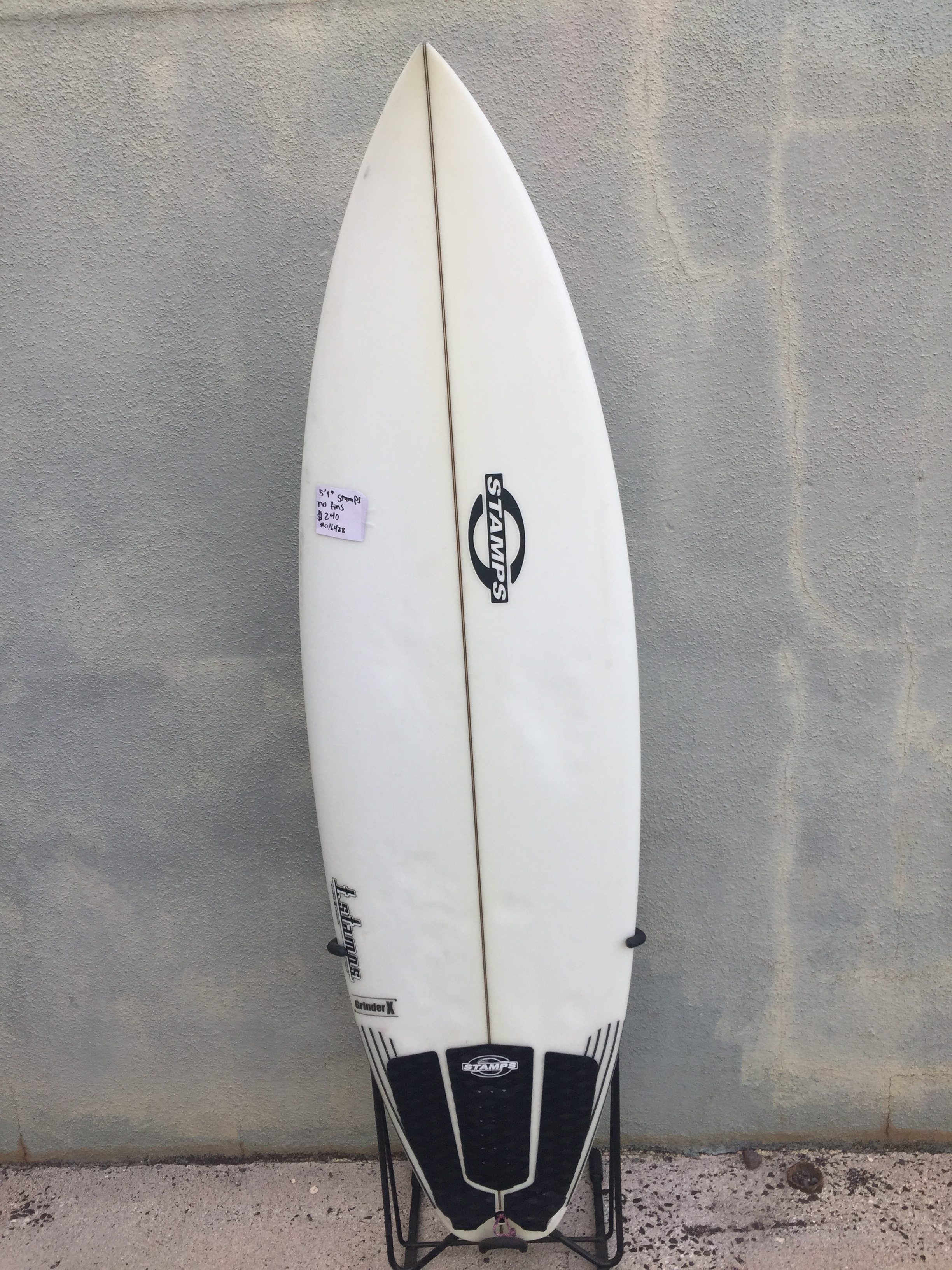 "5'9"" stamps - $240"