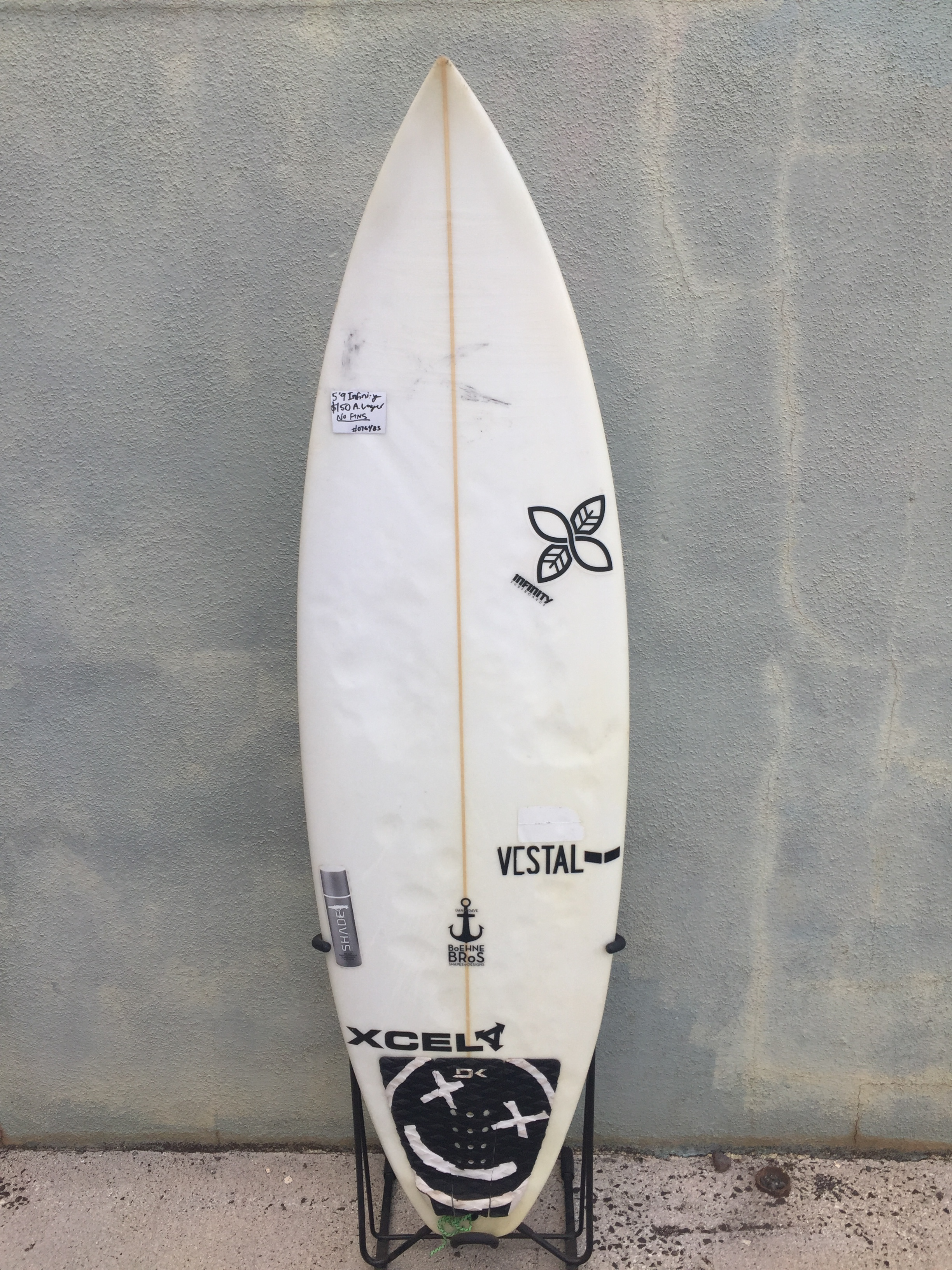 "5'9"" infinity shapes - $150"