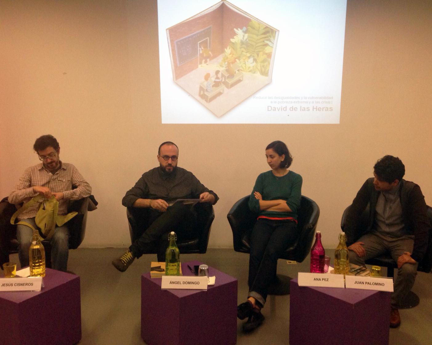 Presentación de 'El mundo que queremos'. Centro Cultural de España en México, 2015