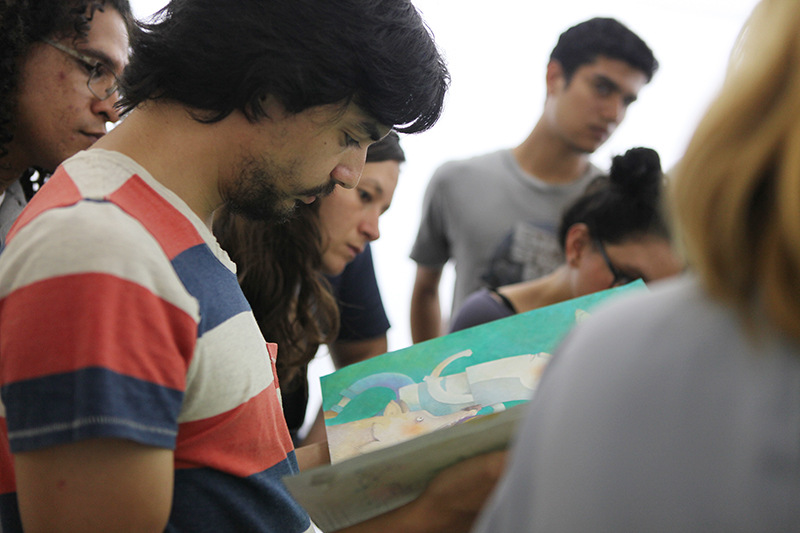 Los trazos de la ilustración. Centro Cultural de España en Nicaragua, 2015