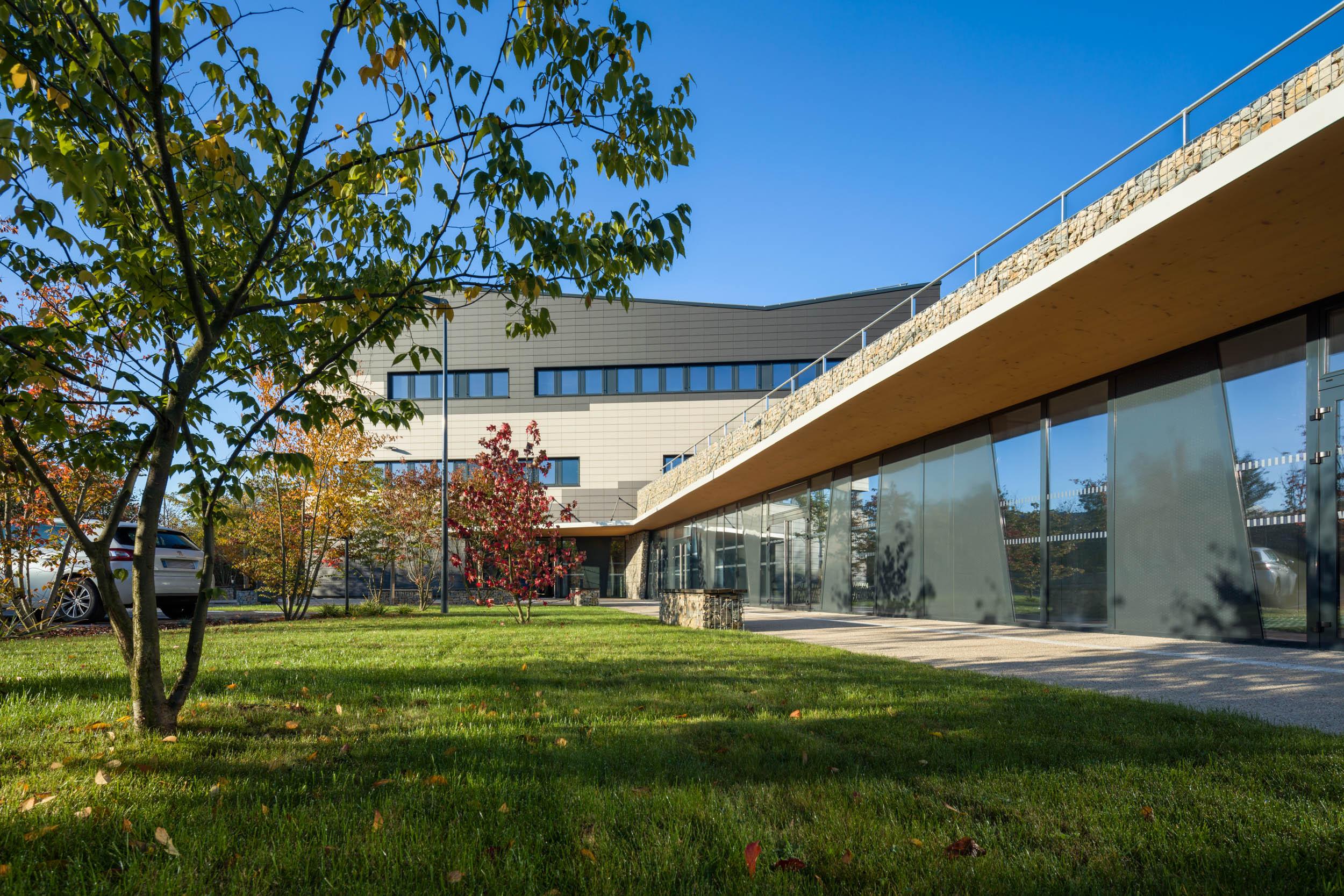 Ecopole - Besançon  Lamboley Architecte Office