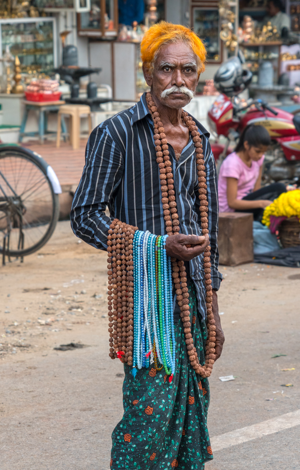 On the street of Varanasi