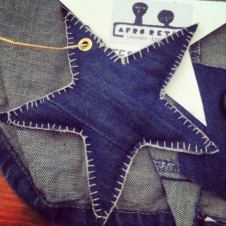 AFRORETRO Make a Lavender Bag Star