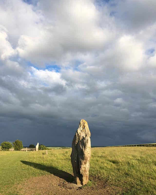 Avebury solstice eve.