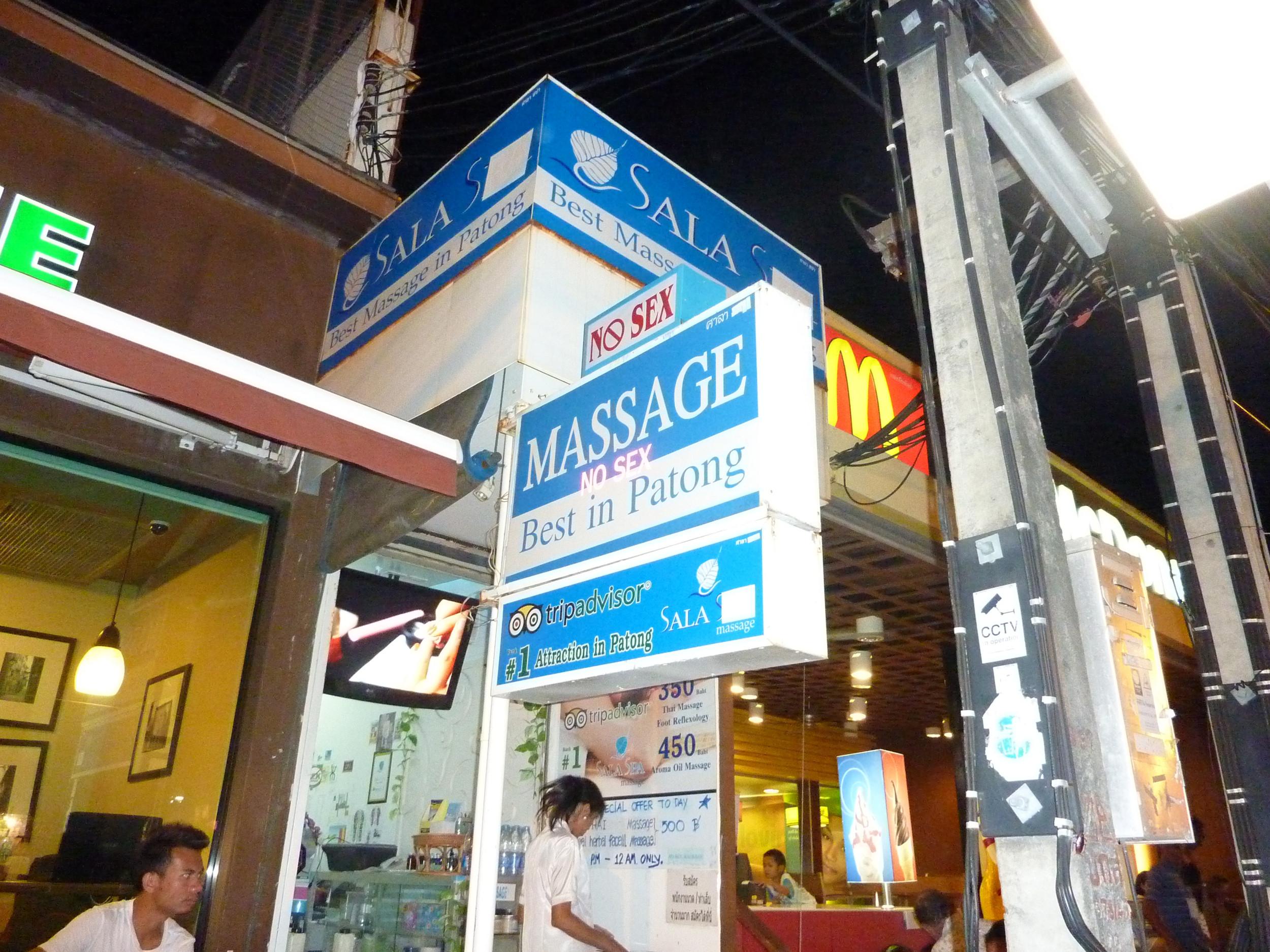 Impacts of sex tourism. Bangkok, Thailand.