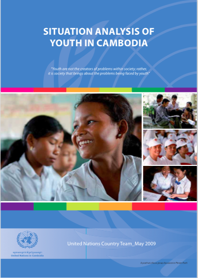 Figure 4. Challenges and opportunities for youth in Cambodia