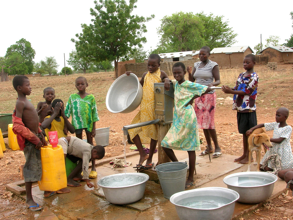 Boreholes - How boreholes are improving water access in northern Ghana