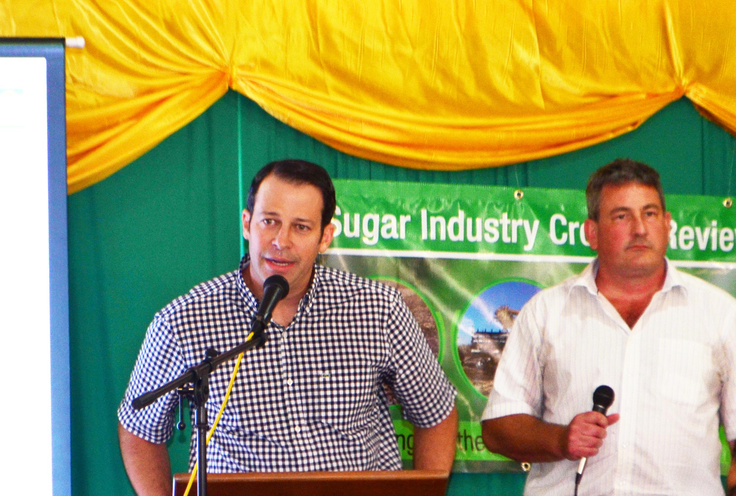 Celestino Ruiz, ASR's Vice President & Mac McLachlan, Vice President of International Relations