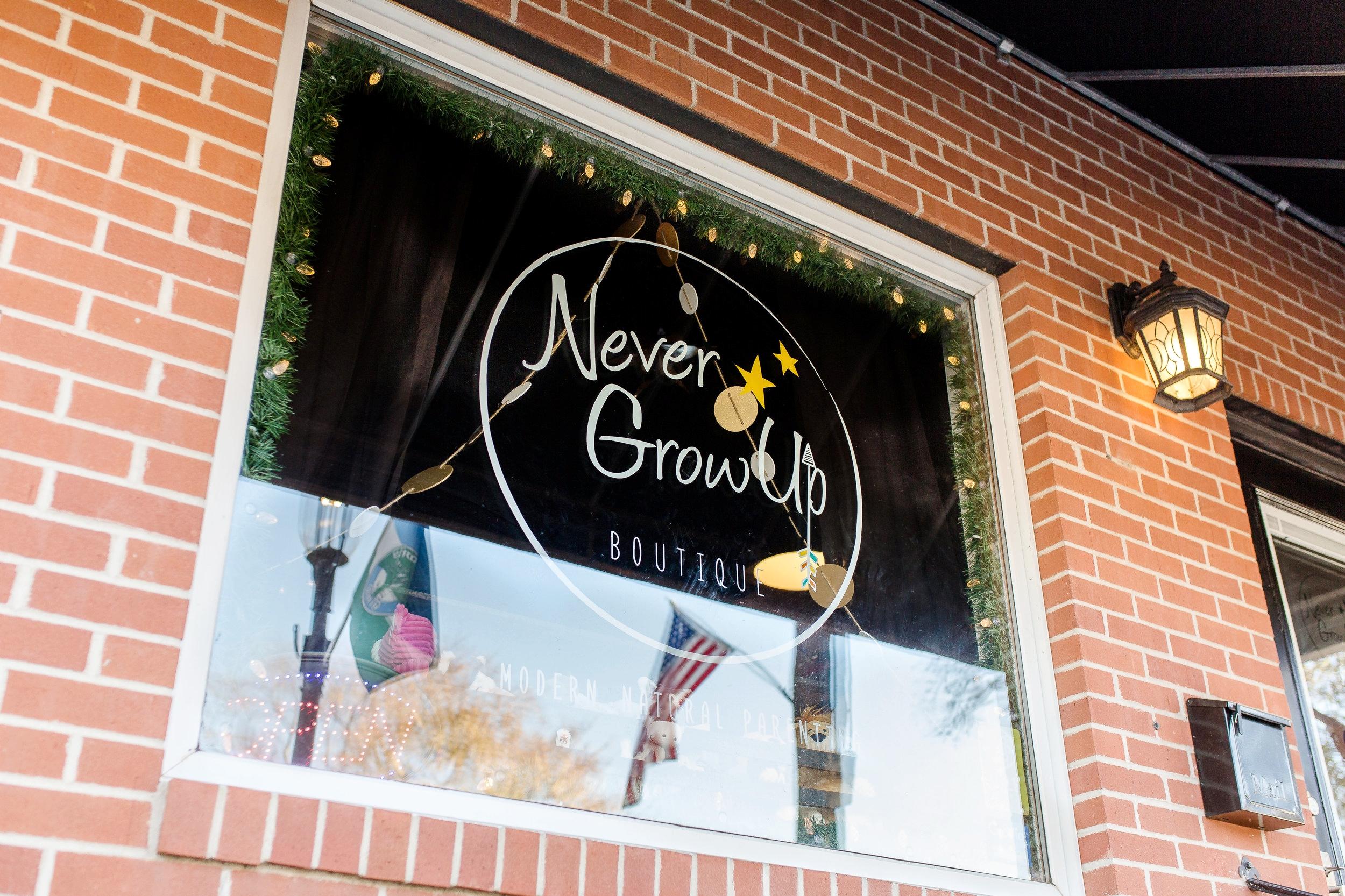 Never Grow Up Boutique | Shop Small | Grove City, Ohio | Sarah Cropper Photography