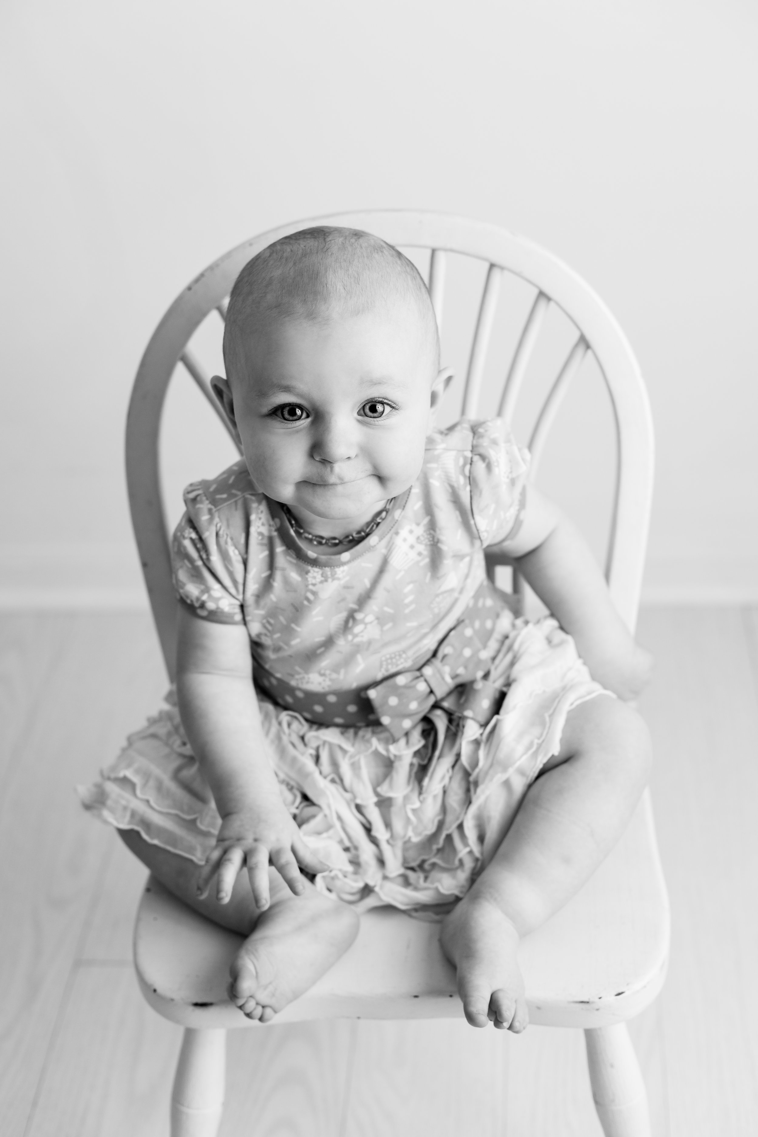 Central Ohio First Birthday Photographer