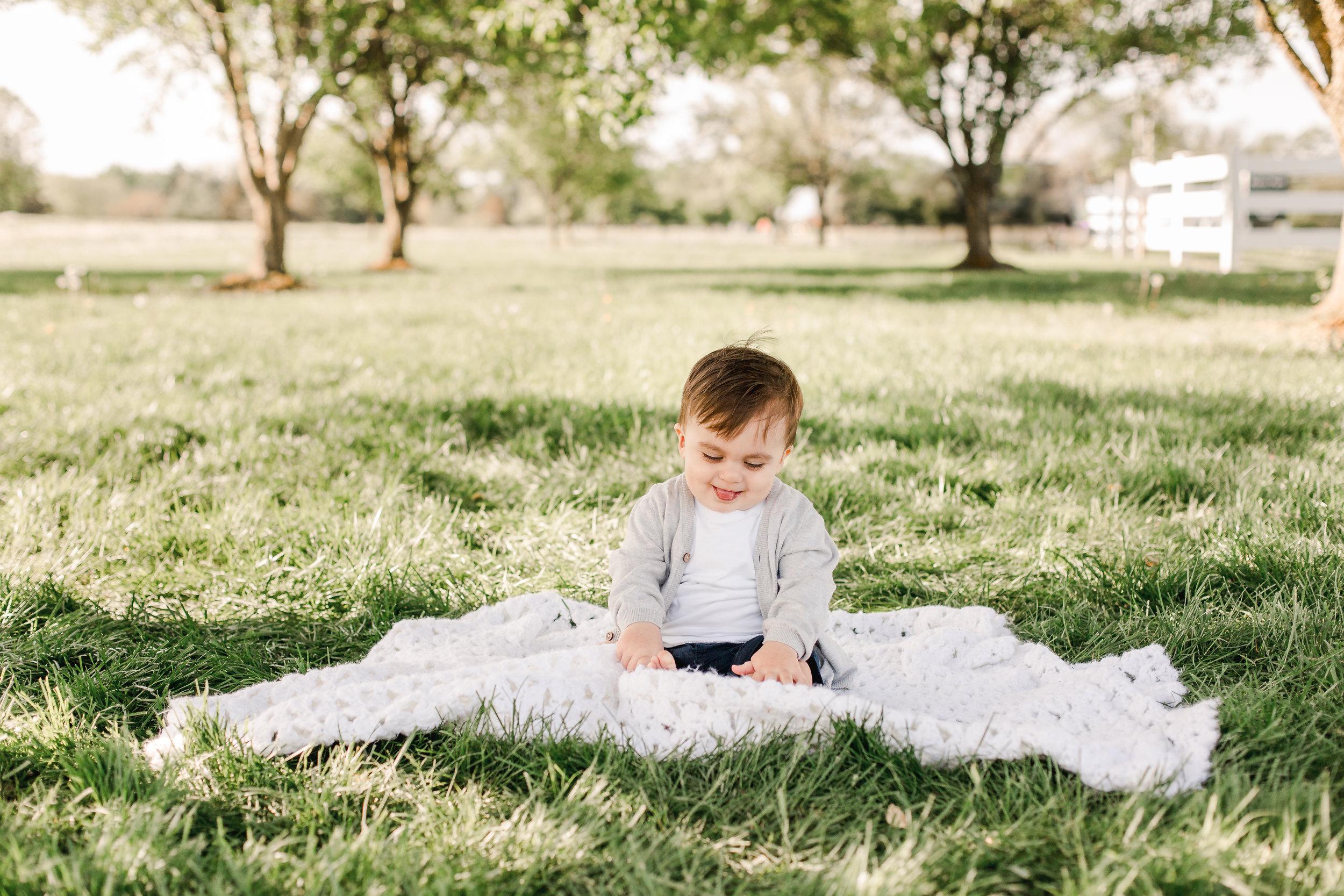 Grove City Ohio Baby Photographer