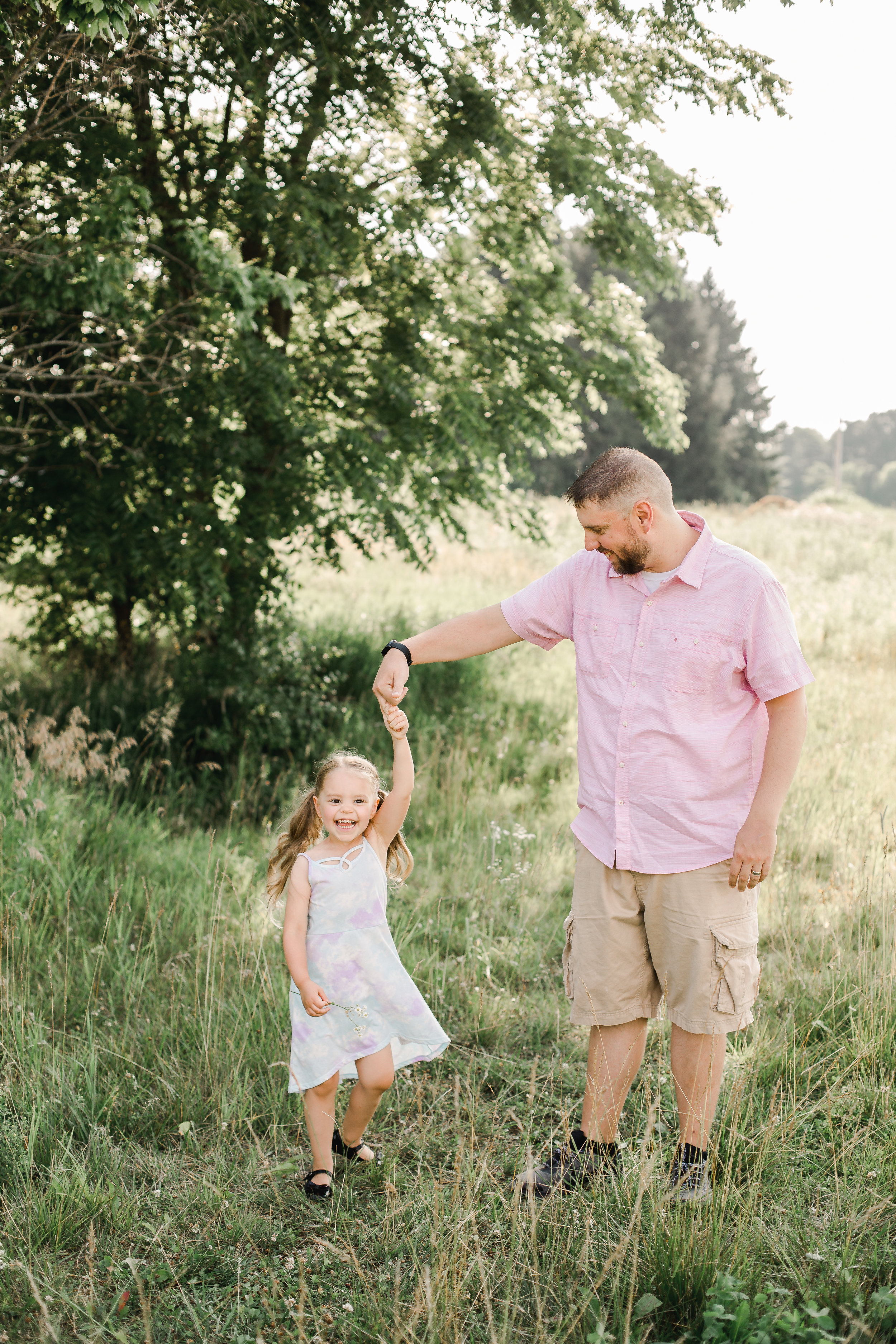 Father Daughter Dancing Photo Central Ohio