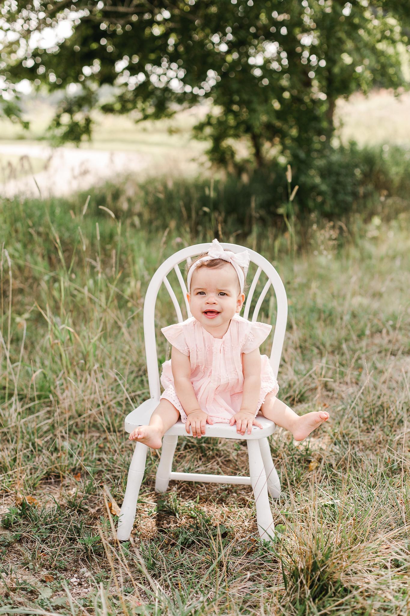 Baby Portrait at Columbus Metro Park