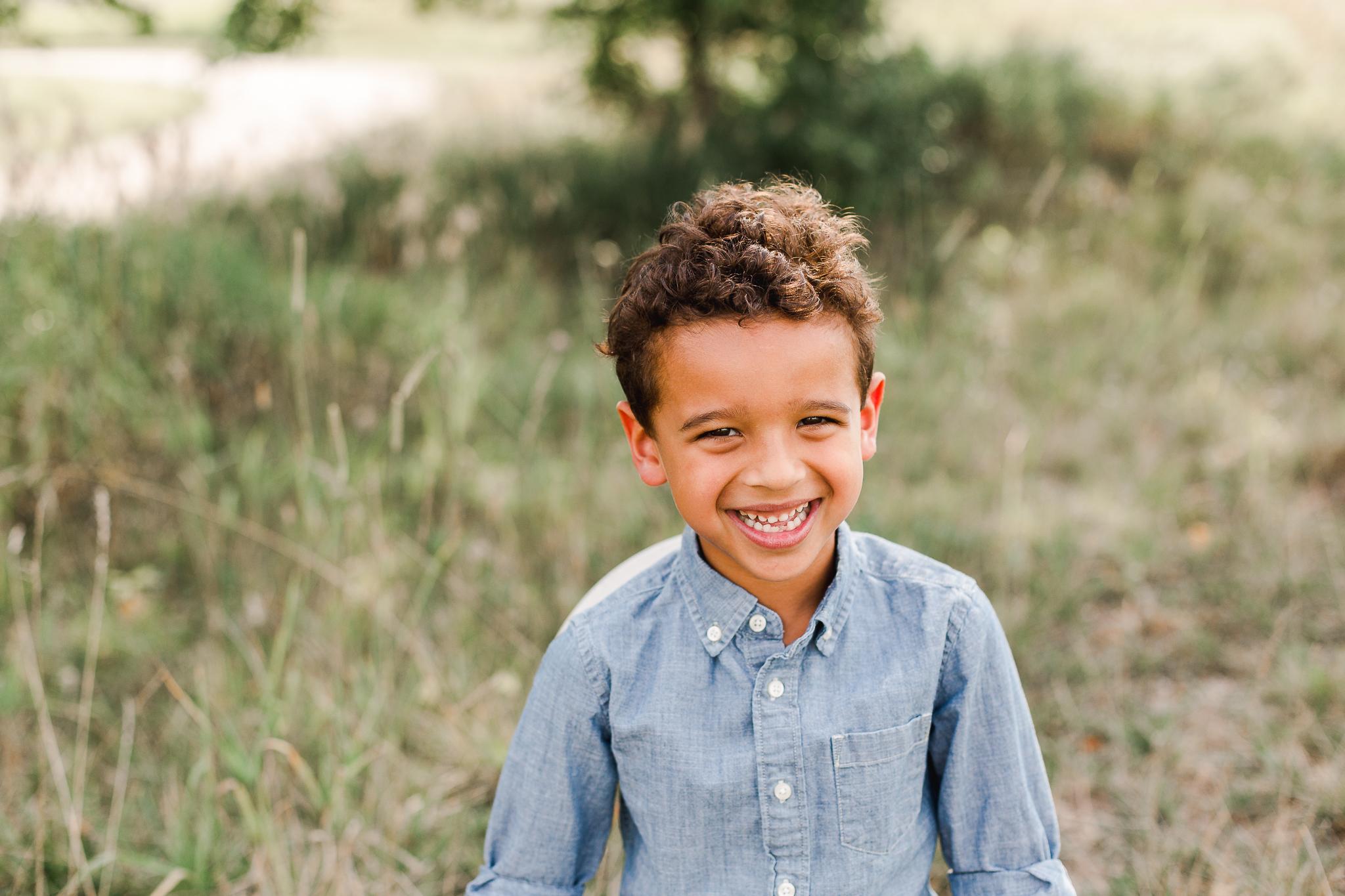 Happy Child Portrait Ohio Child Photographer