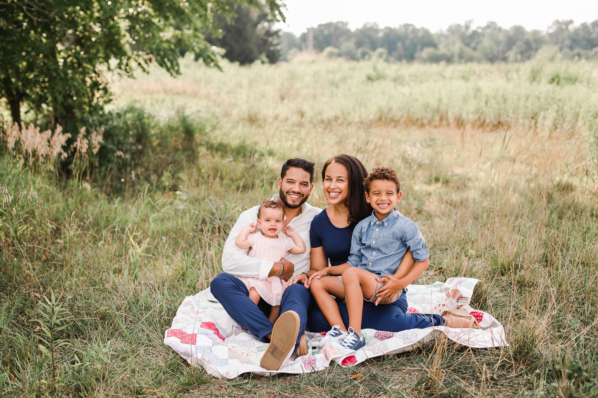 Family Portrait in Central Ohio