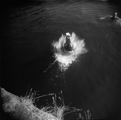 Elsie Hull Sprague,  Diver