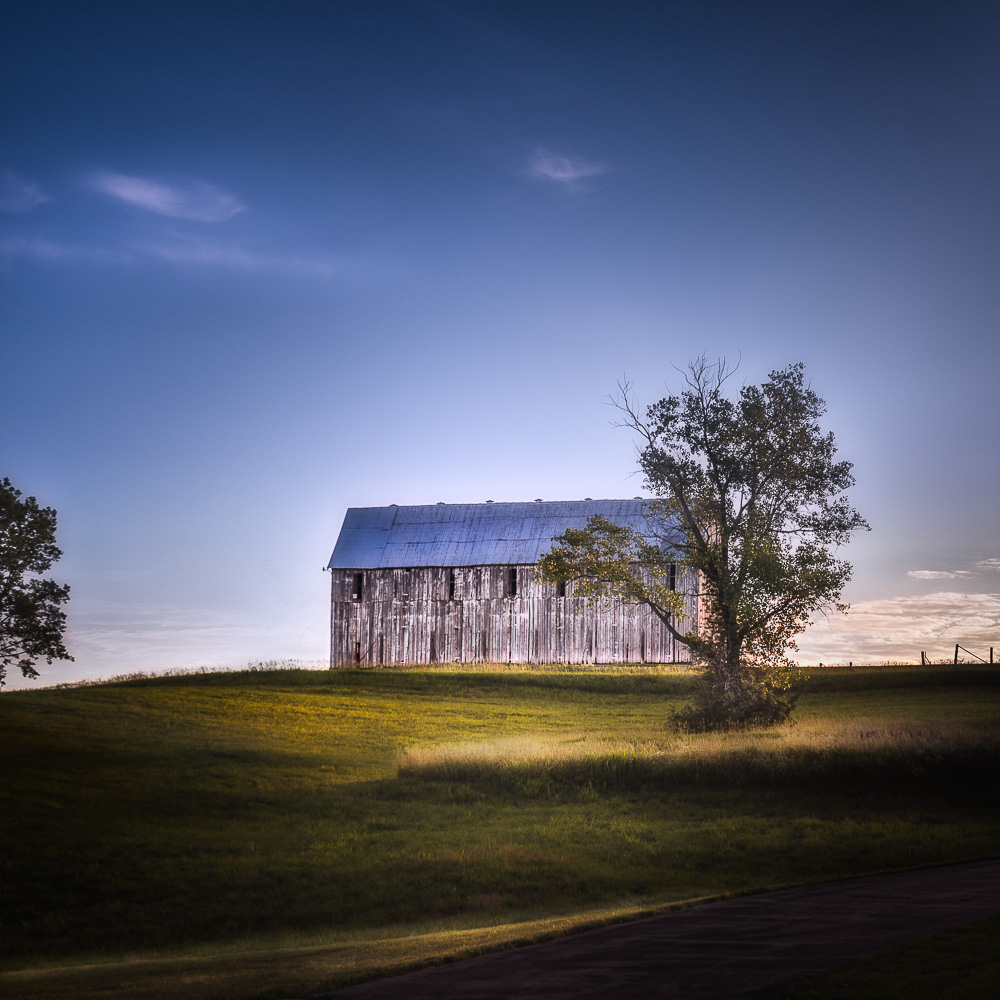 Tobacco Barn, Rural Kansas