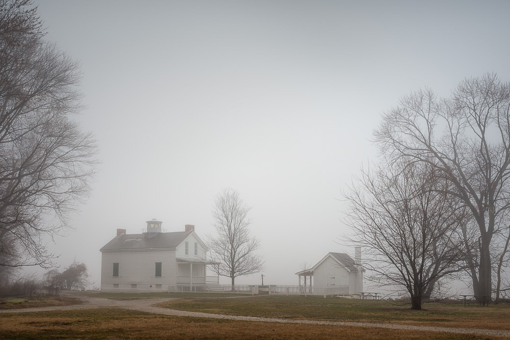 Jones Point, Heavy Fog