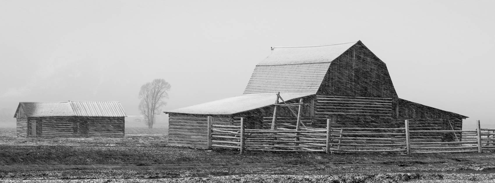 01-John Moulton Barn in Snow